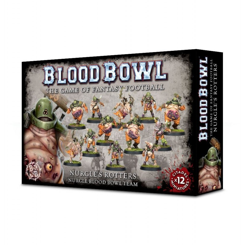 Nurgle's Rotters - BLOOD BOWL TEAM
