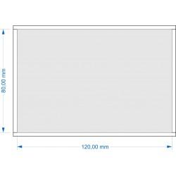Plateau de mouvement 120x80mm fermé