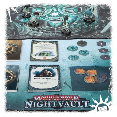 Wh Underworlds: Nightvault Playmat