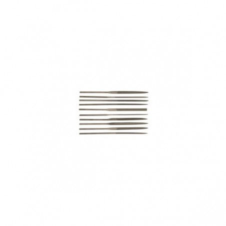 Set de 10 fines limes - File Needle Set