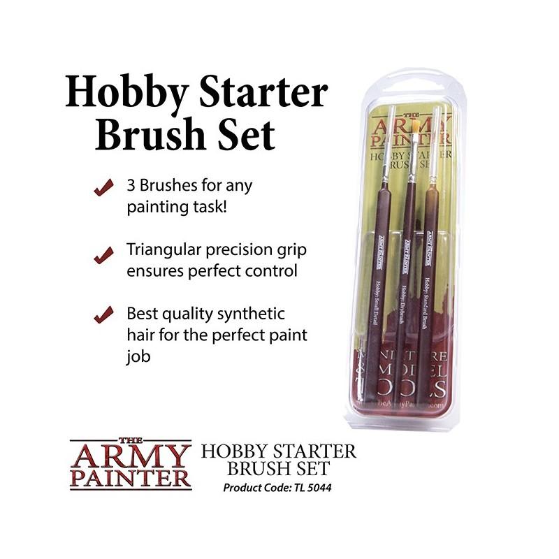 Pack de demarrage pinceau - Hobby Starter Brush Set