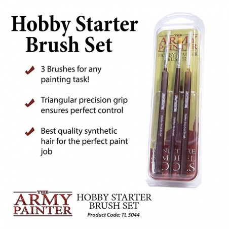Pack de demarrage pinceau - Hobby Starter Brush Set