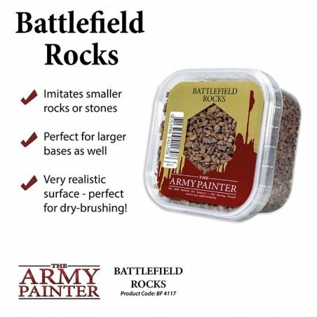 Basing: Battlefield Rocks
