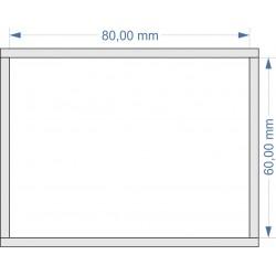 Plateau de mouvement 80x60mm Fermé