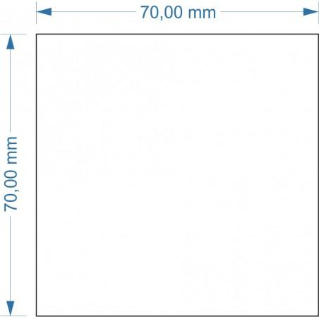 Socle 70x70mm