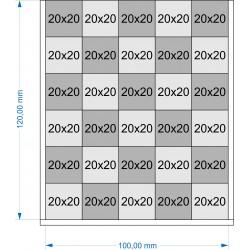 Plateau de mouvement 100x120mm