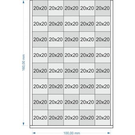 Plateau de mouvement 100x160mm