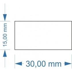 Socle 30x15mm