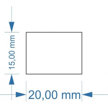 Socle 20x15mm