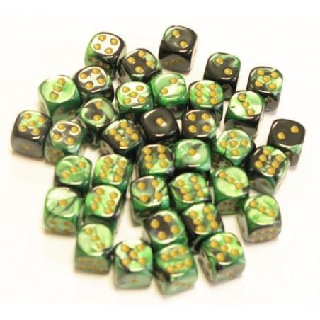 GEMINI - Noir-Vert/Or