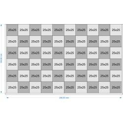 Plateau de mouvement 250x150mm
