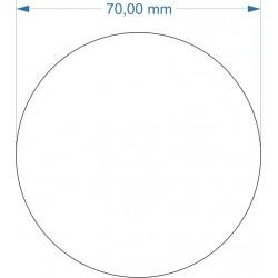Socle rond diamètre 70mm