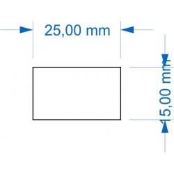 Socle 15x25mm