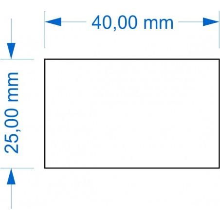 Socle 25x40mm