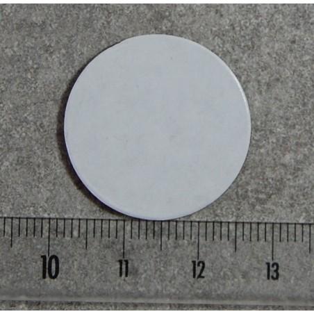 Aimant rond diamètre 25mm adhésif