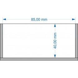 Plateau de mouvement 85x40mm