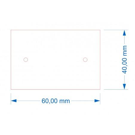 Socle 60x40 Magnétique