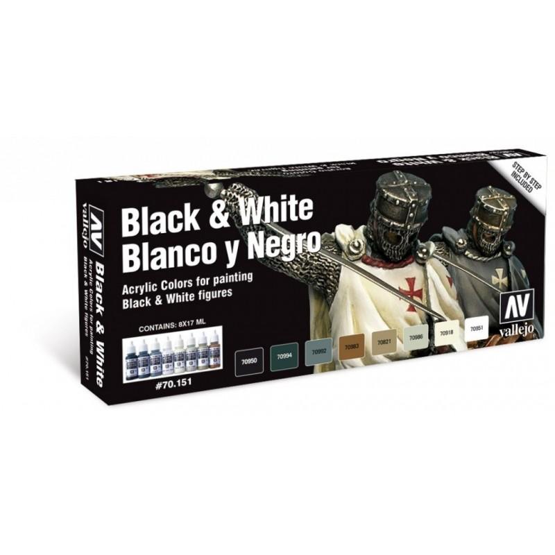 70151 - Black and White set