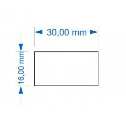 Socle 16x30mm