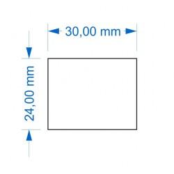 Socle 24x30mm