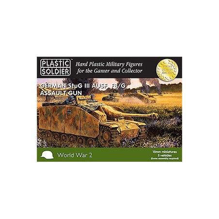 15mm Easy Assembly German Stug Iii Tank