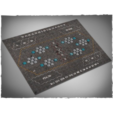 Tapis de jeu Futuristic Football - Garage - Mousepad