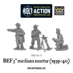 """Early War 3"""" medium mortar"""