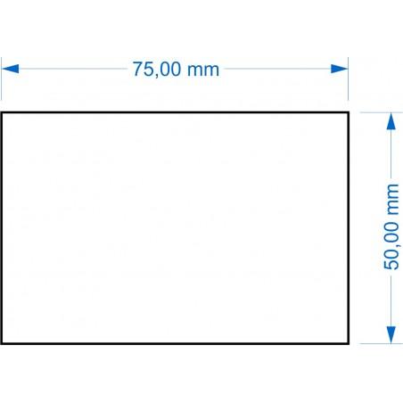 Socle 50x75mm
