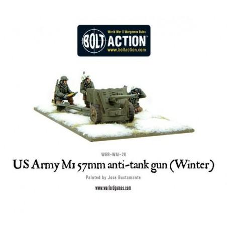 US Army 57mm anti-tank gun M1 (Winter)