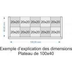 Plateau de mouvement 100x40m