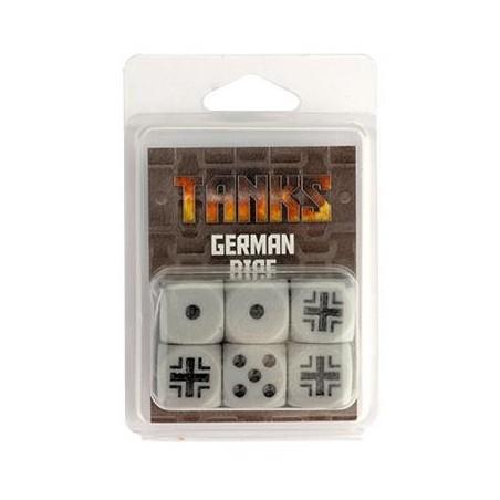 TANKS • Set de dés - Dés Allemands (6)
