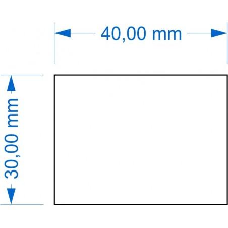 Socle 30x40mm