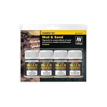 73191 - Set de Pigments Boue et sable