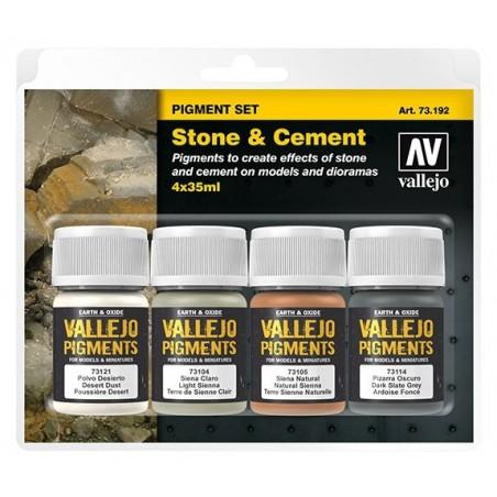 73192 - Set de Pigments Pierre et ciment