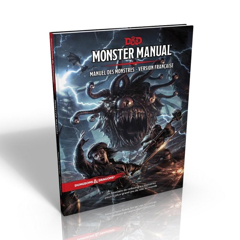 Dungeons & Dragons 5 - Manuel des Monstres - VF