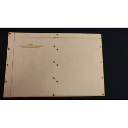 Plateau Légion Cavalerie de grande taille 50x100 - 300x200mm Magnétique