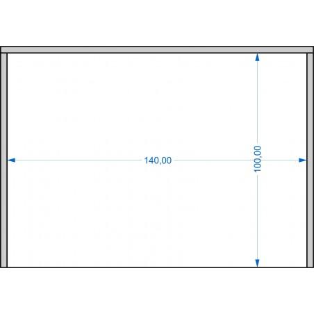 Plateau de mouvement 140x100mm