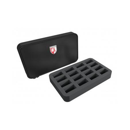 Feldherr MINI MINUS half-size 16 cut outs foam Case