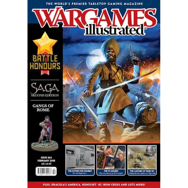 Wargames Illustrated WI364 February 2018 Edition