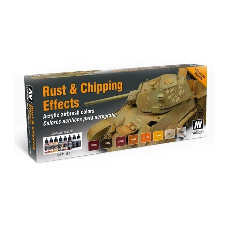 71186 - Rust and Chippng Effects