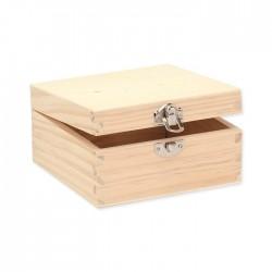 Boîte carrée 13x13x7cm, FSC