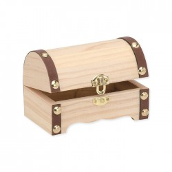 Boîte à trésor 115x75x75mm FSC