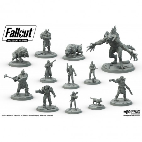 Fallout : Westeland Warfare - Two Player Starter Set (ENG)