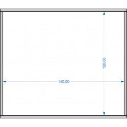 Plateau de mouvement 140x120mm Fermé