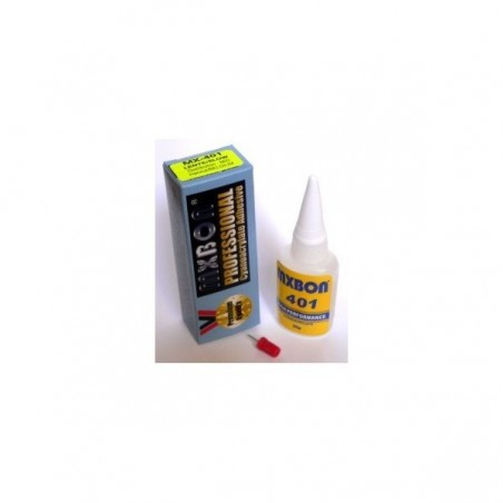 MX401 - CYANOACRYLATE ADHESIVE SLOW THIN - Séchage plus lent