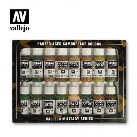 70179 - Panzer Aces Camouflage Colors