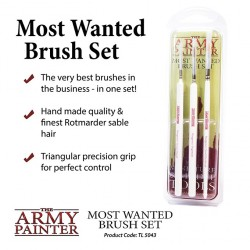 Wargamer Most Wanted Brush Set