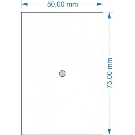 Socle 50x75mm magnétique