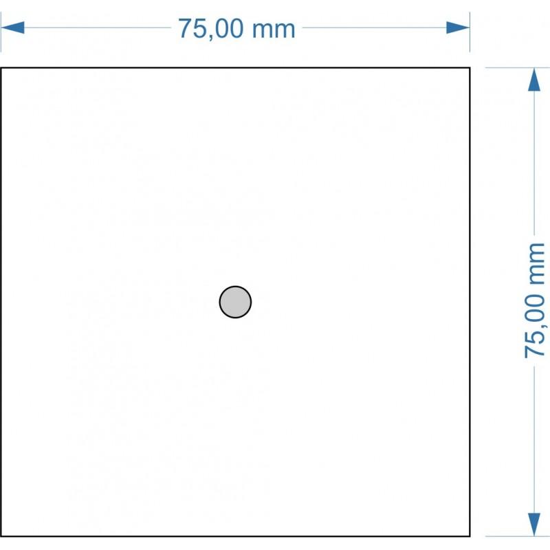 Socle 75x75mm Magnétique