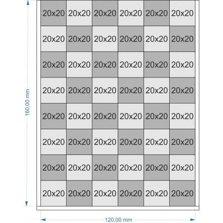 Plateau de mouvement 120x160mm